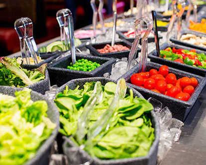 Senior Salad Bar & Senior Buffet