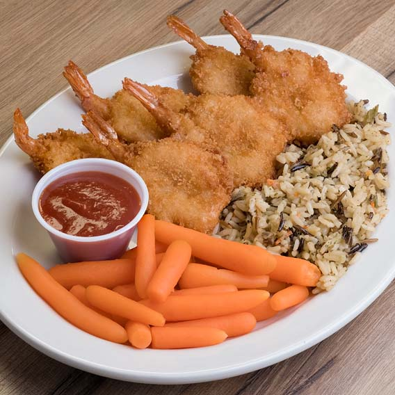Breaded Shrimp Dinner