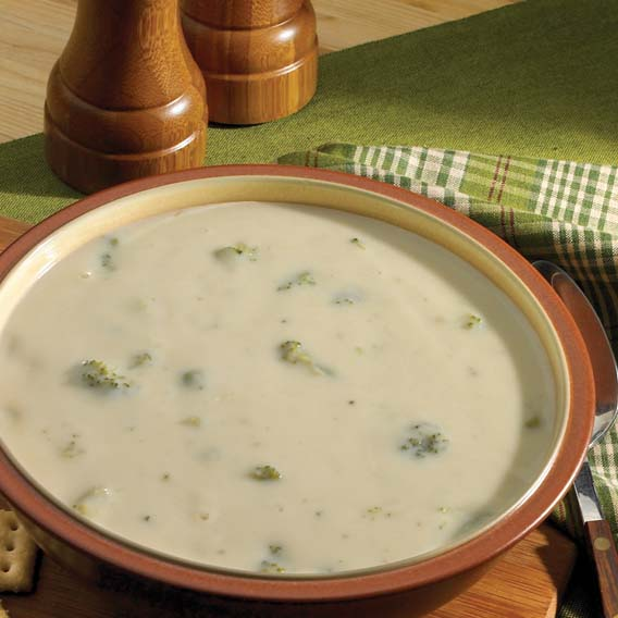 Cream of Broccoli Soup- Tuesdays