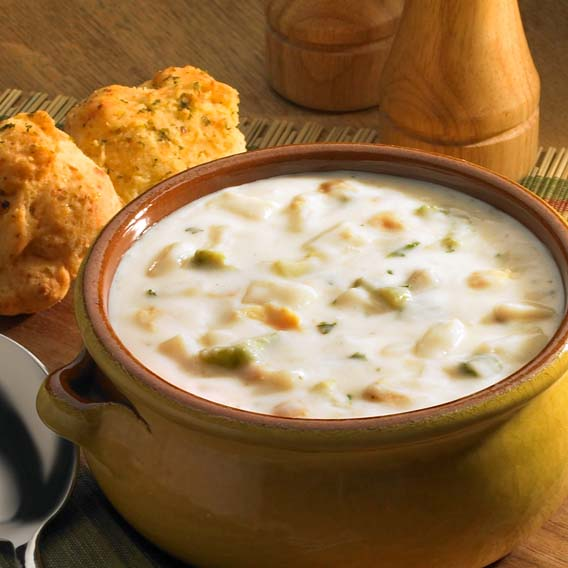 Clam Chowder Soup - Fridays