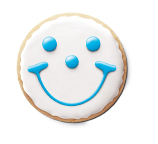 We introduced our iconic Smiley Cookie for kids visiting our restaurants.