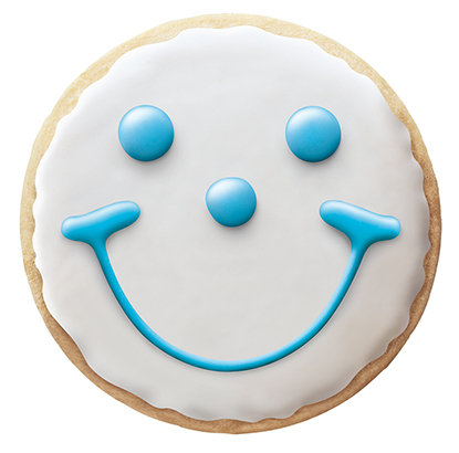 Our iconic Smiley Cookie turned 30.
