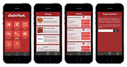 The Eat'n Park Mobile App goes live for iPhone and Android.