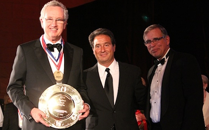 Jim Broadhurst wins the International Foodservice Manufacturers Association (IFMA) Gold Plate Award.