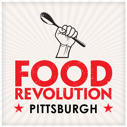 We participated in Pittsburgh's Food Revolution Day.